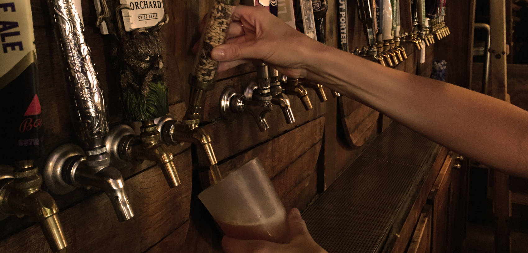 Kailua pub with 30 craft beers on tap