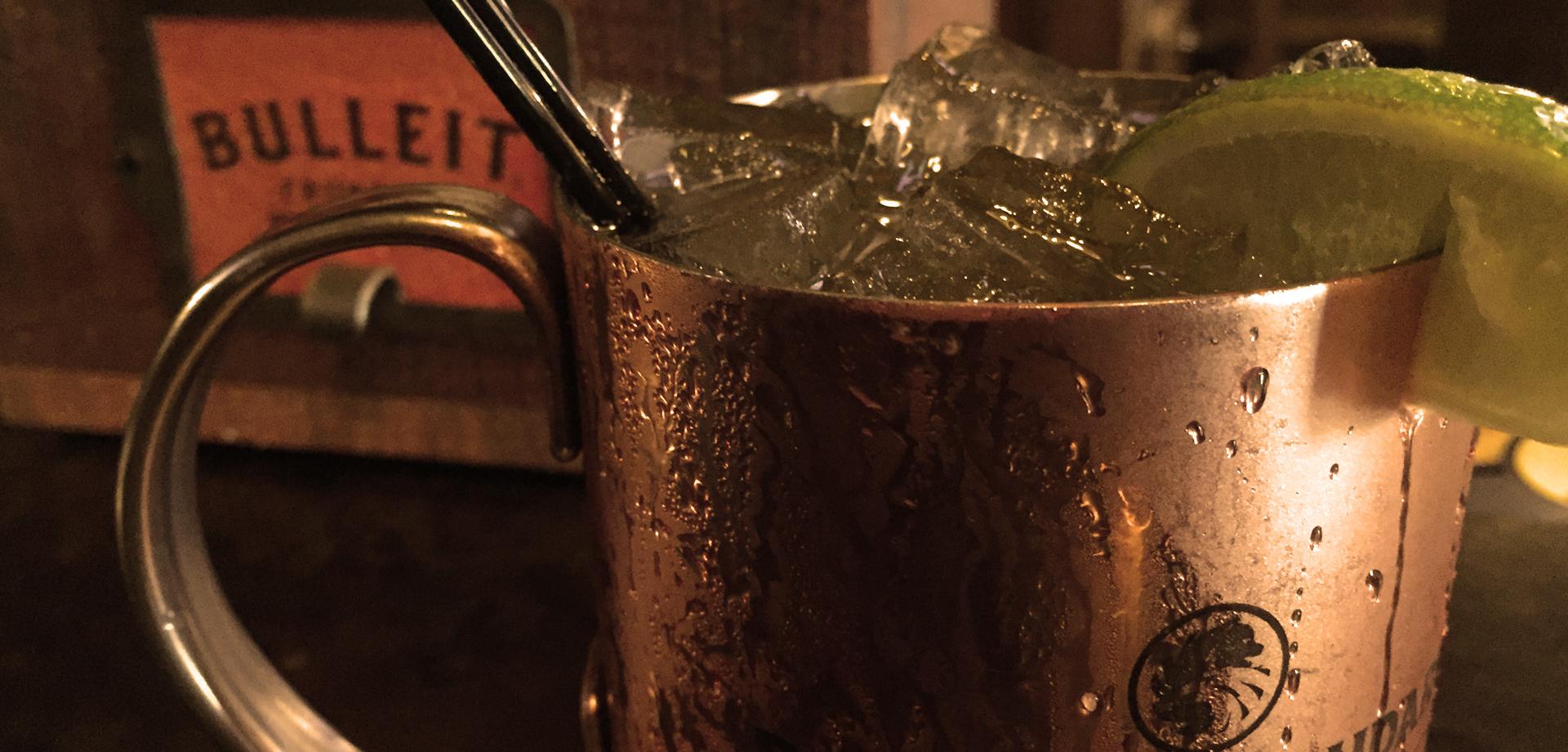 Kailua town pub moscow mule