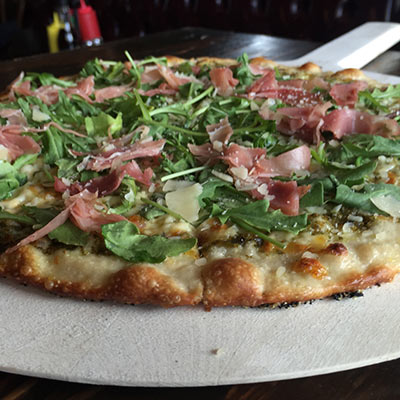 specialty pizza at kailua town pub